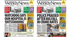 One of Trinity's new titles, the Manchester Weekly News