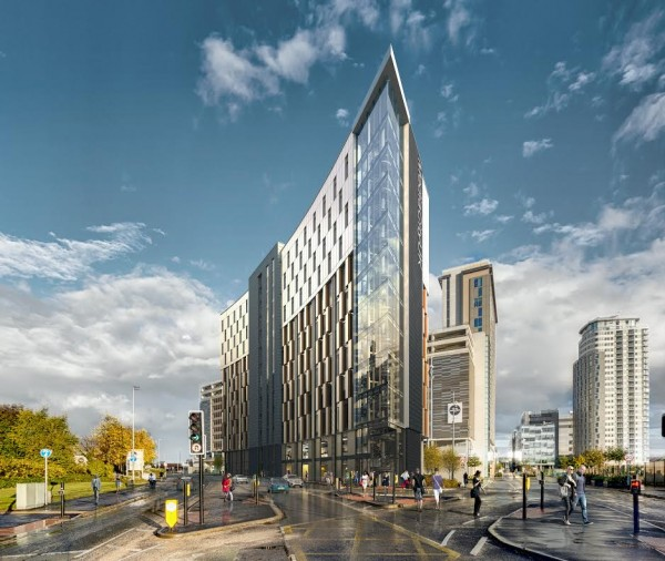 The Tomorrow development at MediaCityUK