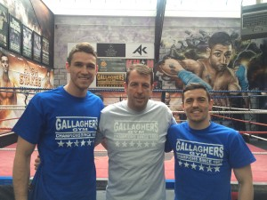 Callum Smith, Joe Gallagher & Anthony Crolla