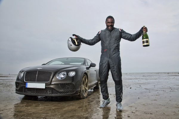 Idris Elba after successfully completing his challenge