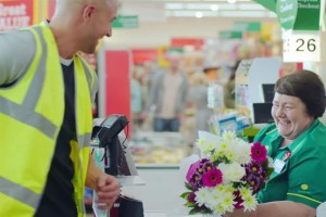 A screengrab from the new Morrisons ad
