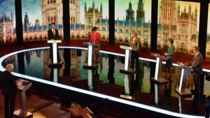 One of the pre-election TV debates