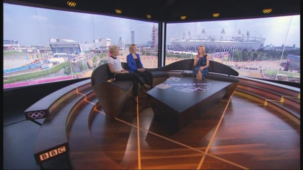 The BBC's main studio for the London 2012 Games