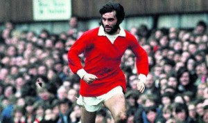 George Best in his United heyday