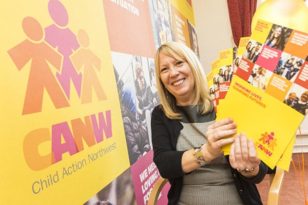 CEO Sue Cotton with the new CANW brand