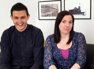 New hires Amy Flynn and James Binding