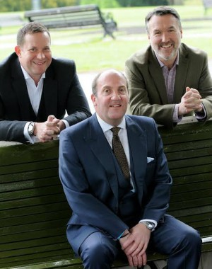 Media Yorkshire founders (l to r) Nathan Lane, David Parkin and Stuart Clarke