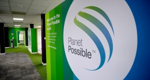 The studio tells the story of the Planet POssible initiative