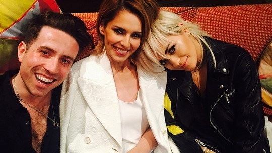 New judges Grimshaw and Ora with Cheryl Fernandez-Versini