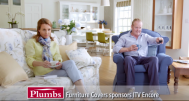 Plumbs' sponsorship of the ITV Encore channels begins today