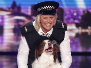 BGT winner Jules O'Dwyer and her dog Matisse