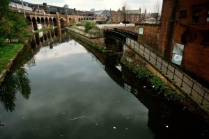 The Bridgewater Canal in Castlefield