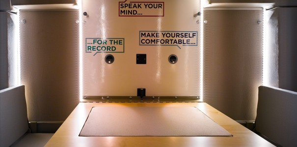 Listening Project Booth Internal