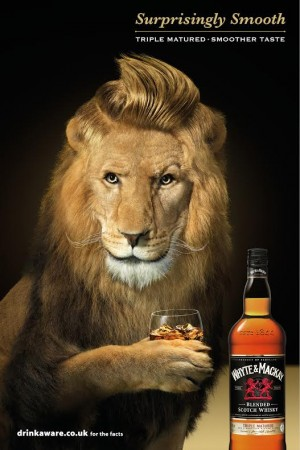Another of BJL's new ads for Whyte & Mackay