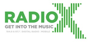The new Radio X branding