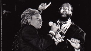 Mike Shaft & with Kym Mazelle at the Hacienda launch party