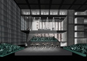 Inside the proposed Factory arts centre