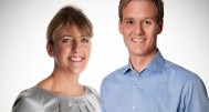 WARNING: Embargoed for publication until 19/09/2014 - Programme Name: Afternoon Edition - TX: n/a - Episode: n/a (No. n/a) - Picture Shows:  Dan Walker, Sarah Brett - (C) BBC - Photographer: unknown
