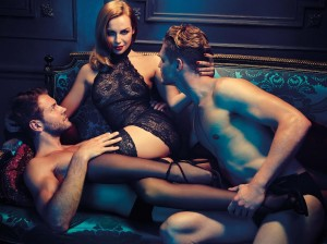 Creative from Propaganda's Dark Desires campaign for Ann Summers
