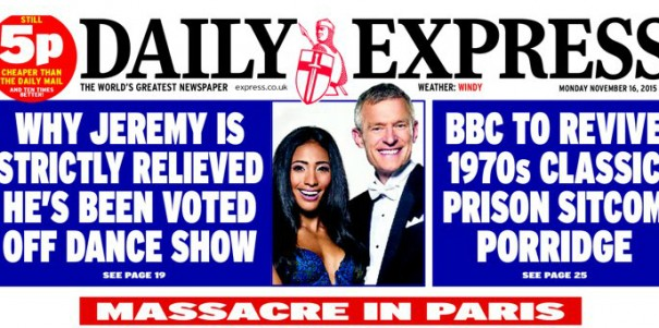 """Express Newspapers says it has had a strong focus on """"cost control"""""""
