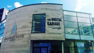 A Google Digital Garage has been based at Leeds Dock for the past few months