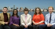 Bay TV Liverpool News Team 2