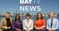 Bay TV Liverpool news team 1