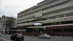 The landmark former BBC base on Oxford Road in Manchester