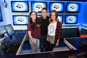 Adam Weighell, Gemma Cutting and Imogen Townley will host the breakfast show