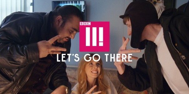 A still from the new BBC Three campaign