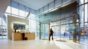 RBS's office in Spinningfields, Manchester