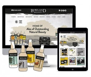 Workhouse's Bowland Brewery rebrand