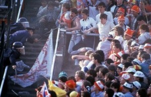 The Heysel Stadium disaster in 1984