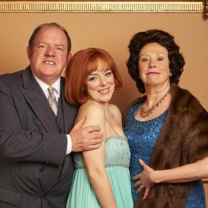 John Henshaw (left) in ITV's Cilla