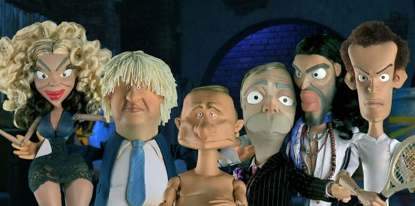 """Undated handout photo issued by ITV of some of the cast from Newzoids, a new primetime puppet show on ITV promising a """"biting look at the world of politics and celebrity"""". PRESS ASSOCIATION Photo. Issue date: Wednesday February 11, 2015. ITV's six-part series will include impressions by Jon Culshaw who worked on Spitting Image as well as the voice of Debra Stephenson. Among the targets for its satire are David Cameron and Nick Clegg, who will be portrayed appearing on the Jeremy Kyle show, Boris Johnson, Nigel Farage and Russell Brand. See PA story SHOWBIZ Puppets. Photo credit should read: ITV/PA Wire NOTE TO EDITORS: This handout photo may only be used in for editorial reporting purposes for the contemporaneous illustration of events, things or the people in the image or facts mentioned in the caption. Reuse of the picture may require further permission from the copyright holder."""