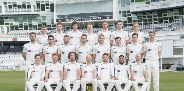 Picture By Allan McKenzie/SWpix.com - 15/04/16 - Cricket - Yorkshire CCC Media Day - Yorkshire County Cricket Club - Headingley, Leeds, England - Yorkshire County Cricket Club Team Photo 2016.