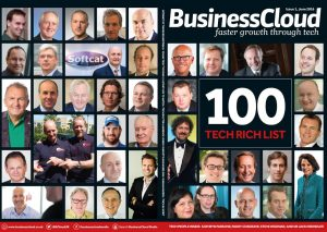 The front cover of the first BusinessCloud