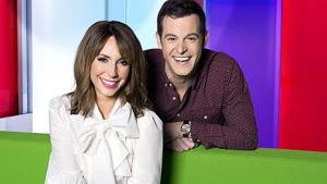 Current One Show hosts Alex Jones and Matt Baker