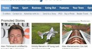 Outbrain content on the website of Archant title, the Eastern Daily Press