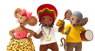 The producers of Apple Tree House are best known for Rastamouse