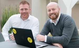Zuto founders James Wilkinson and Ryan Dignan