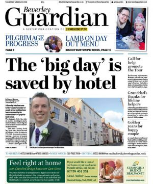 An edition of the Beverley Guardian