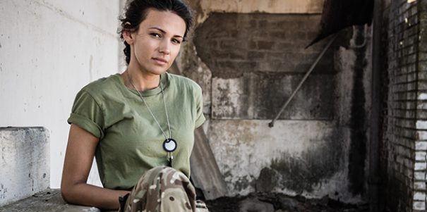 Programme Name: Our Girl - TX: n/a - Episode: n/a (No. n/a) - Picture Shows:  Georgie Lane (MICHELLE KEEGAN) - (C) BBC - Photographer: Coco Van Oppens