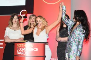 Contour Cosmetics pick up their award