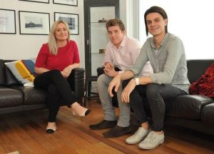 New starters Laura Jones, Matthew Austin and Myke Hamilton
