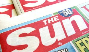 The Sun is widely boycotted on Merseyside