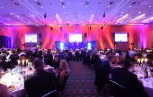 The packed venue at the Hilton Deansgate in Manchester