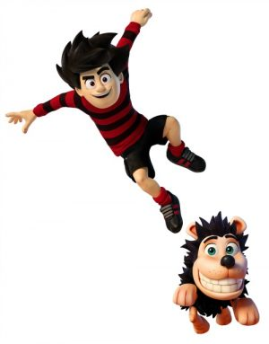 A first view of the new CGI Dennis and Gnasher