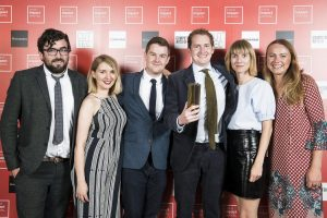 The SB team was recognised for its work with RIBA