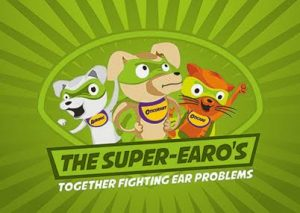 Some of the creative for the Super-earo campaign